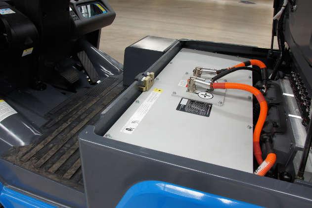 Staplertest: Elektro-Dreiradstapler ECB von BYD