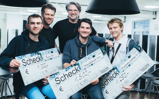 Knapp Coding Contest 2017 – Jetzt anmelden!