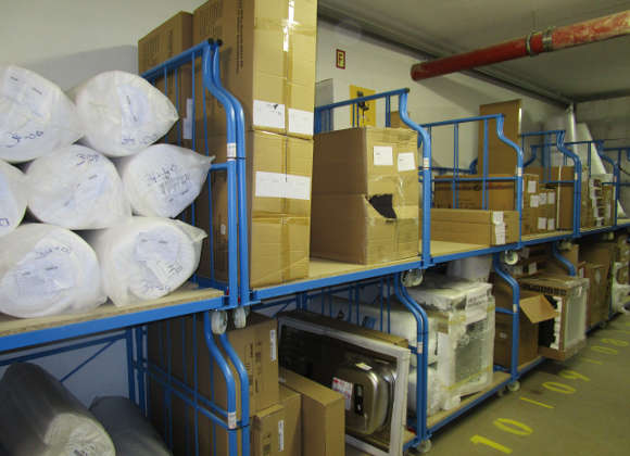 Flexible Rollboxen vereinfachen Prozesse