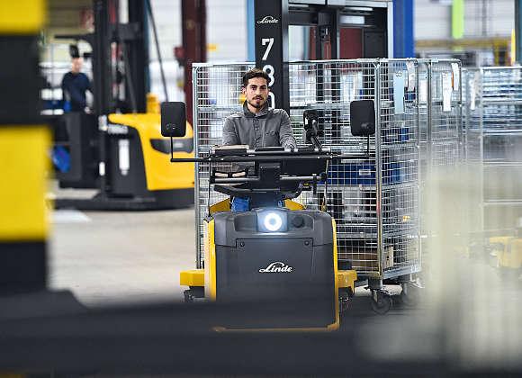 Neues Logistikkonzept zur Materialversorgung