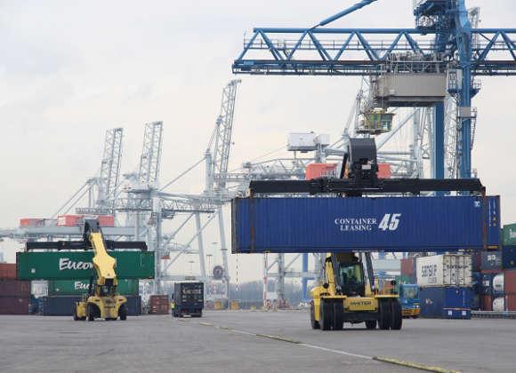 Hyster: Container SOLAS-konform wiegen