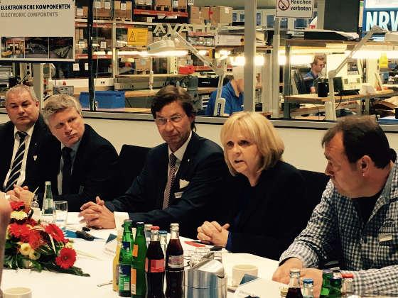 Hannelore Kraft, NRW-Ministerpräsidentin, Paul Vahle