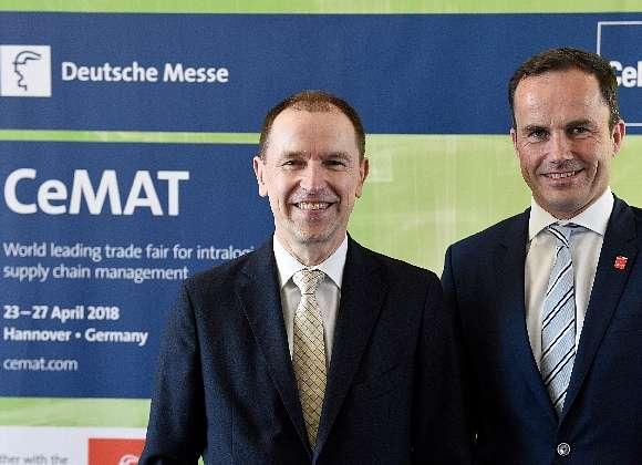 CeMAT 2018 – Vernetzte Logistik wird erlebbar
