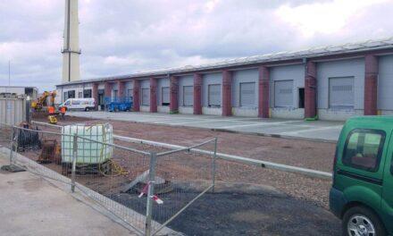 Realisierung eines Crossdock-Lagers durch Instandsetzung einer historischen Lagerhalle