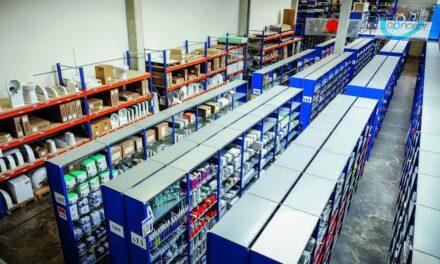 Flexible Lagerlösung für Fachgroßhandel