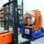 Ferngesteuertes Sondergerät verbessert Coil-Handling