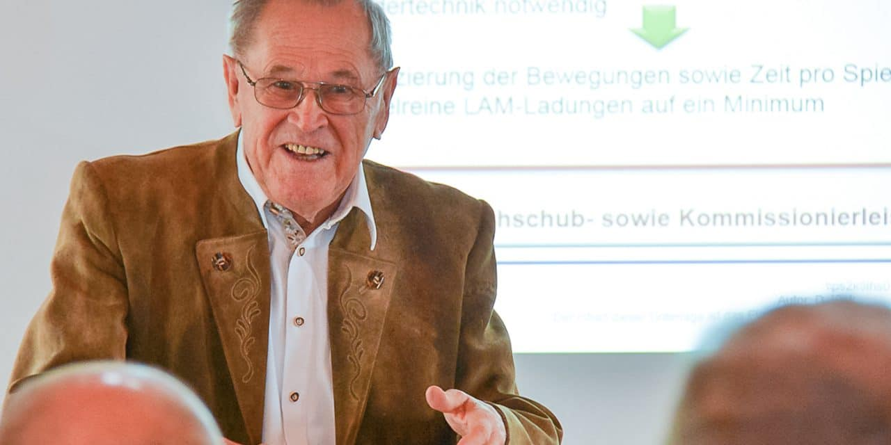 Witron-Gründer Walter Winkler feiert 80. Geburtstag