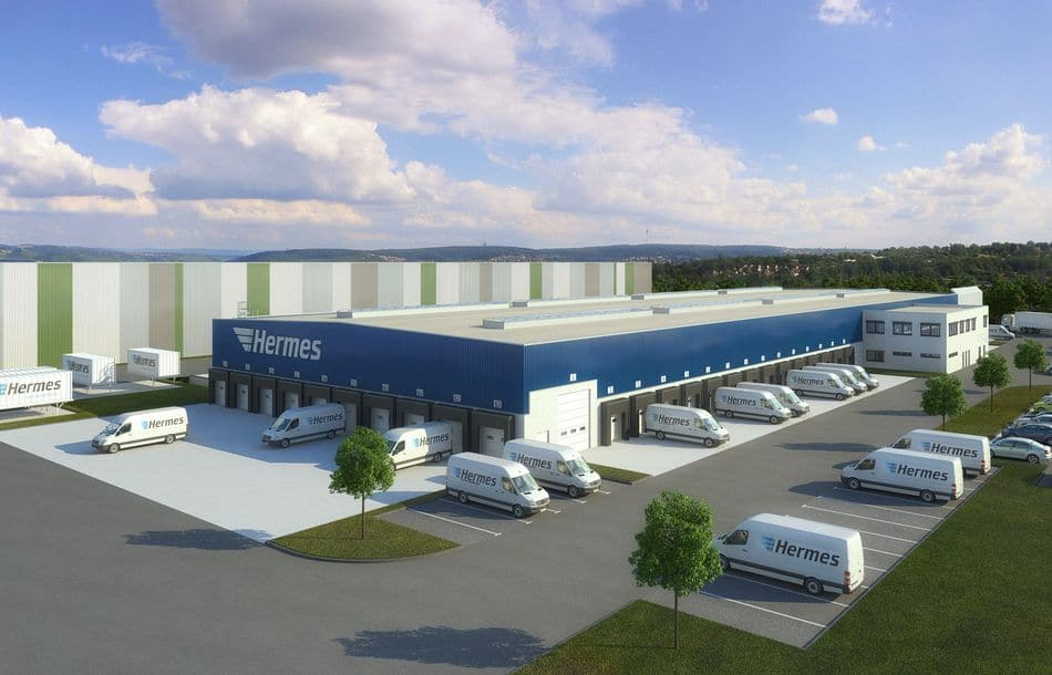 Garbe Industrial Real Estate entwickelt Logistikzentrum für Hermes