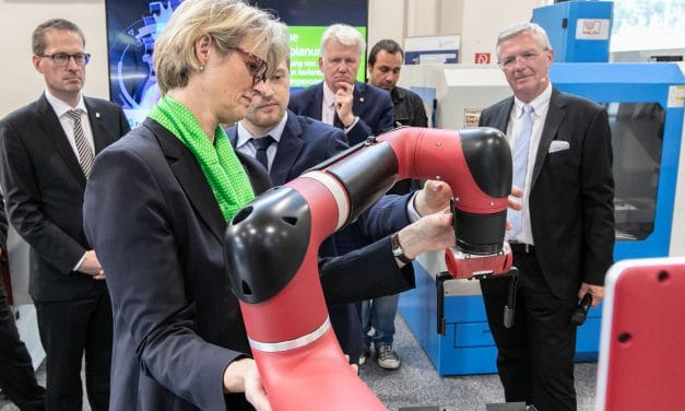 Video: Fraunhofer IML – TU Dortmund: Eröffnung Innovationslabor