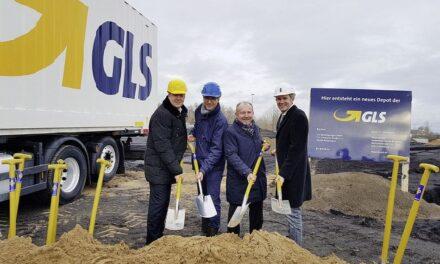 GLS baut Depot Mannheim neu