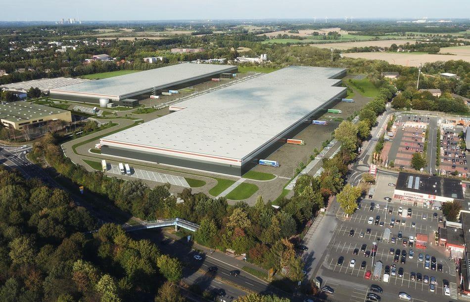 Zweite Bauphase Logistikpark Kamen gestartet