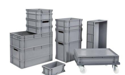 Mehr Platz im Lager mit dem richtigen Behältersystem