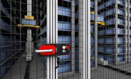 Drei Bauteile und ein Schlüssel sorgen für Schutz