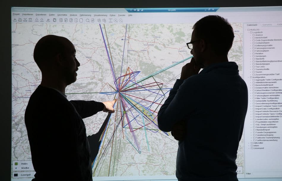 Mächtige Softwaretools für Logistikdienstleister
