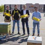 Still übernimmt Bienenpatenschaft