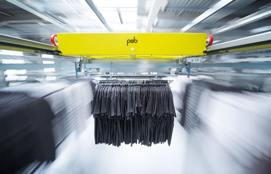 Weltpremiere in der Pfalz: Das Dynamic Fashion Warehouse von psb Intralogistics