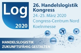 Log 2020 – 26. Handelslogistik Kongress @ Congress-Centrum Nord, Koelnmesse