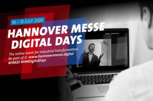 Hannover Messe Digital Days (14. und 15. Juli) @ Online