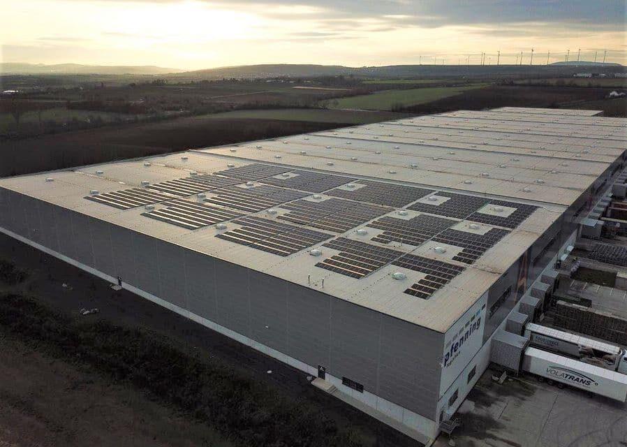 Wirsol realisiert Solardach-Großprojekt