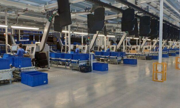 TGW übergibt Distributionszentrum an Mayoral