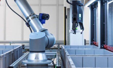Automatiklager mit Roboter-Picking