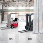 50 Jahre Elektrostapler von Linde MH