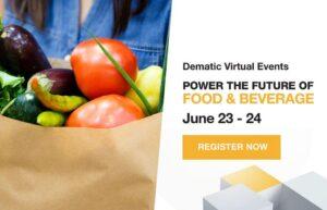 Dematic lädt ein zum Food & Beverage-Customer Day @ online