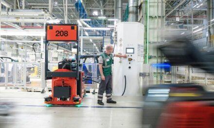 BLG Logistics und BMW Group auf dem Weg zur Grünen Fabrik
