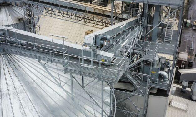 Getriebemotoren sichern optimale Förderleistung beim Getreideumschlag